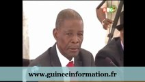 JT RTG DU 04.03.2013. Alpha Condé rencontre les délégués de l'opposition guinéenne. Aboubacar Sylla, porte-parole; et Djalikatou Diallo (PEDN)...