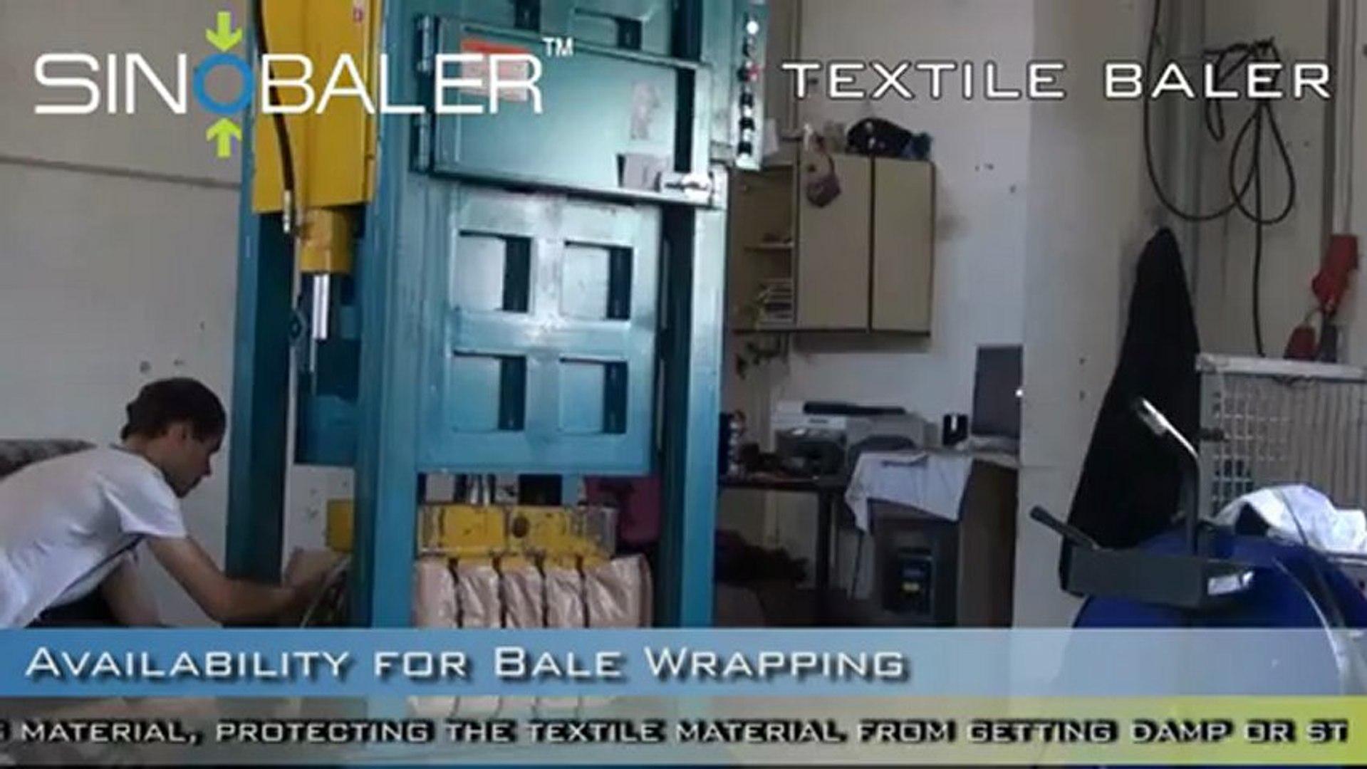 SINOBALER - Textile Baler, Clothes Baling Press, Clothes Baler, Clothes Recycling Equipment