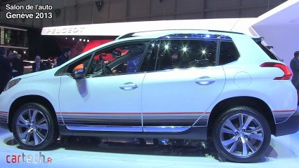 Genève 2013 : Peugeot 2008