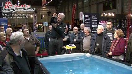 European fishing show 2013 -  Daniel Nicolet, guide de pêche UF