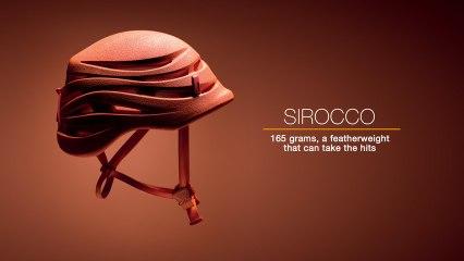 SIROCCO - Ultra-lightweight (165g) climbing and mountaineering helmet