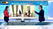 """Politique Première : Nicolas Sarkozy n'exclut pas un retour en politique """"par devoir"""" - 06/03"""