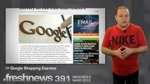 freshnews #391 Apple et Beats Audio. Faille de sécurité sur Samsung Galaxy. Google Shopping Express (06/03/2013)
