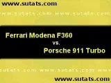 Ferrari F360 Modena vs. 996 Turbo