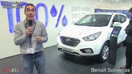 Genève 2013 : Hyundai ix 35 Fuel Cell
