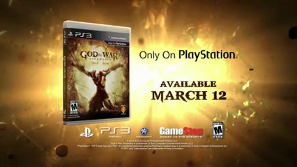 Poseidon God Trailer de God of War : Ascension