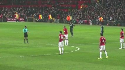 O momento em que Old Trafford ouviu o nome de Cristiano Ronaldo