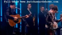 Mumford and Sons I will wait Live Performance BRIT Awards 2013 [HD]251