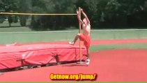 7'2 High Jump From Known Vertical Jump Trainer! Increase Your Vertical and Jump Higher Now!