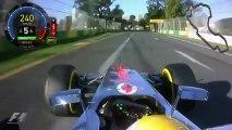 F1 2012 Grand Prix d'Australie Lewis Hamilton Pole Position Onboard