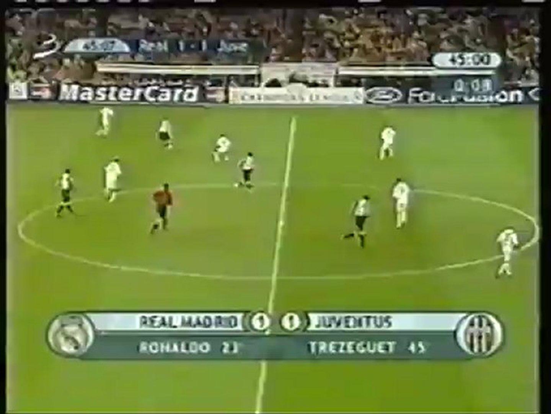 Ювентус реал 2003 3 1