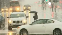 Usa: tempesta di neve nel nordest, stato di emergenza in...