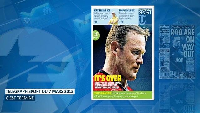 La presse anglaise affirme que Rooney sera vendu cet été !
