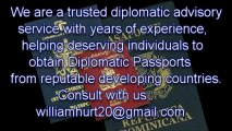 Second Passport by Investment Programs / johnwayne1@accountant.com /( Economic Citizenship Program, 2nd Passport)