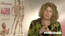 Intervista ad Angela Finocchiaro protagonista del film Ci vuole un gran fisico