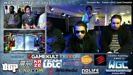WGC 2013 UMVC3 3vs3 tournament Top 4