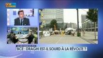 BCE : Draghi est-il sourd à la révolte ? - 7 mars - BFM : Les décodeurs de l'éco 5/5
