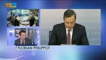 BCE : Draghi est-il sourd à la révolte ? - 7 mars - BFM : Les décodeurs de l'éco 1/5