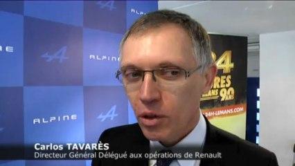 Interview de Carlos TAVARES