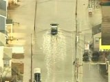 Raw: Winter storm brings damage to Jersey shore