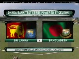 1st Test, Day 1, Sri Lanka vs Bangladesh, Galle, 2013 - Highlights