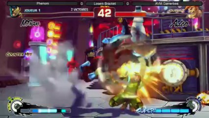 Loser Bracket matches Street Fighter 4 AE v2012 solo
