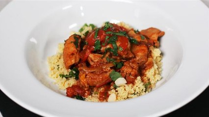 Winter Warmers: Chicken Tagine With Orange And Coriander Couscous