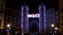 Inauguración de la iluminación de la Falla Sueca-Literato Azorín - Valencia Las Fallas 2013