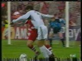 2001 (May 9) Bayern Munich (Germany) 2-Real Madrid (Spain) 1 (Champions League)