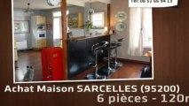 A vendre - maison/villa - SARCELLES (95200) - 6 pièces - 120m²
