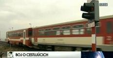 Železnice chcú do vlakov prilákať viac ľudí (2013)