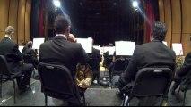 En el medio de la Orquesta Filarmonica de Jalisco!