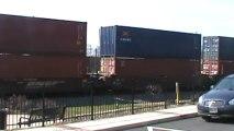 Norfolk Southern intermodal train out of Whitaker Yard through Austell Ga.