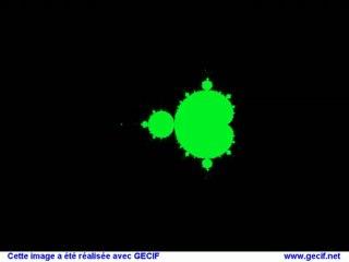 Zoom dans l'ensemble de Mandelbrot