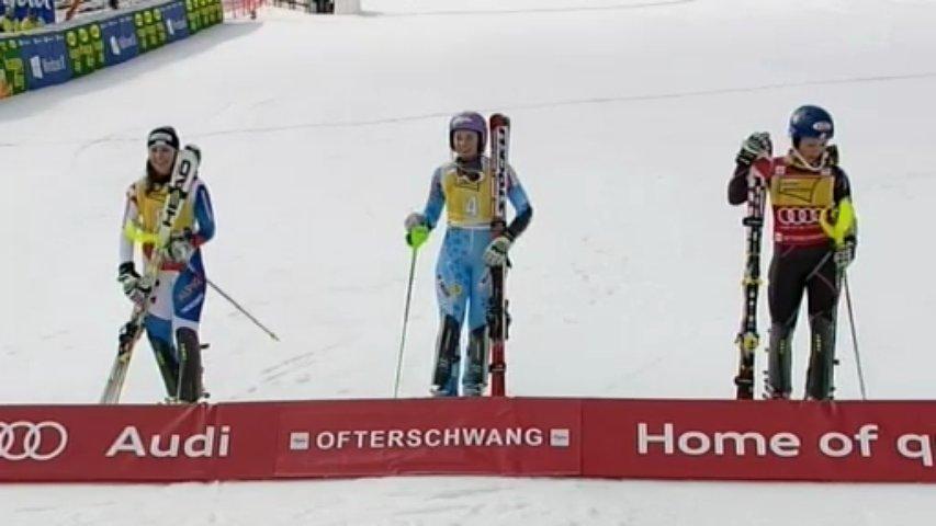 Alpine Skiing World Cup – Ofterschwang – Women's Slalom