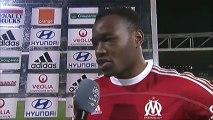 Interview de fin de match : Olympique Lyonnais - Olympique de Marseille - saison 2012/2013