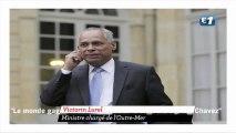 """Le ministre Lurel veut plus de """"dictateurs comme Chavez"""""""