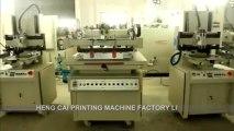 Screen Printing Machine , Tilted-arm vacuum table screen printer