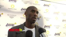 Kobe Bryant Interview Lakers Casino Night After Lakers-Bull Game March 10, 2013