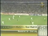 2007 (March 7) Bayern Munich (Germany) 2-Real Madrid (Spain) 1 (Champions League)