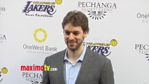 Pau Gasol Lakers Casino Night After Lakers-Bull Game March 10, 2013