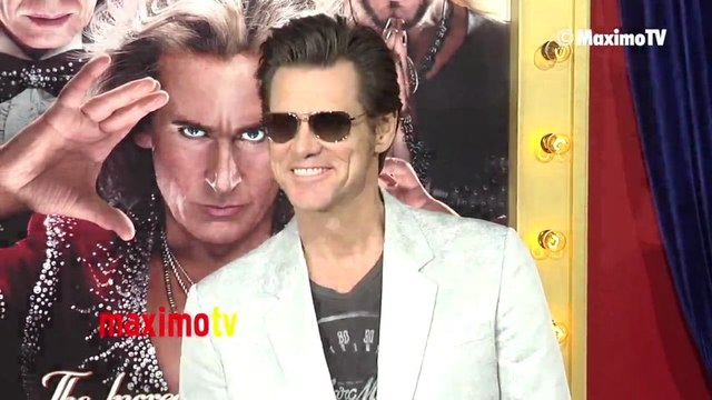 Jim Carrey The Incredible BURT WONDERSTONE Premiere