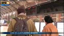 Nord-Pas-de-Calais: tous les transports fortement perturbés par la neige - 12/03