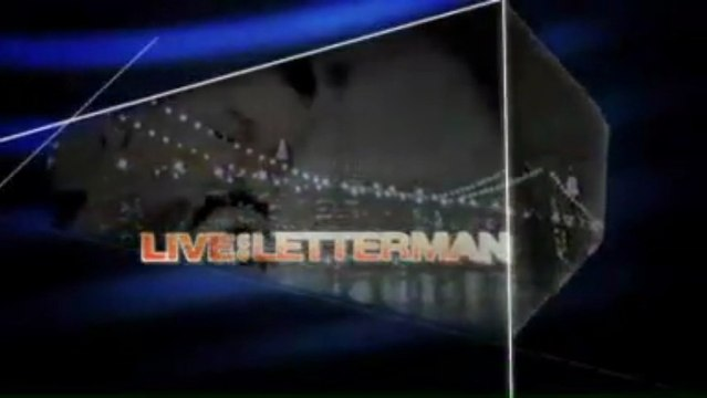 "Depeche Mode 'Live On Letterman"" webcast March, 11th 2013 @ Ed Sullivan Theater NY"