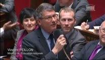 [ARCHIVE] Refondation de l'École : réponse de Vincent Peillon à la question de la députée Dominique Nachury (groupe UMP)