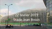 22/02/2013 avancement des travaux du stade Jean Bouin
