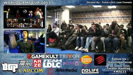 WGC 2013 King Of Fighterx XIII solo top 8 Part 1
