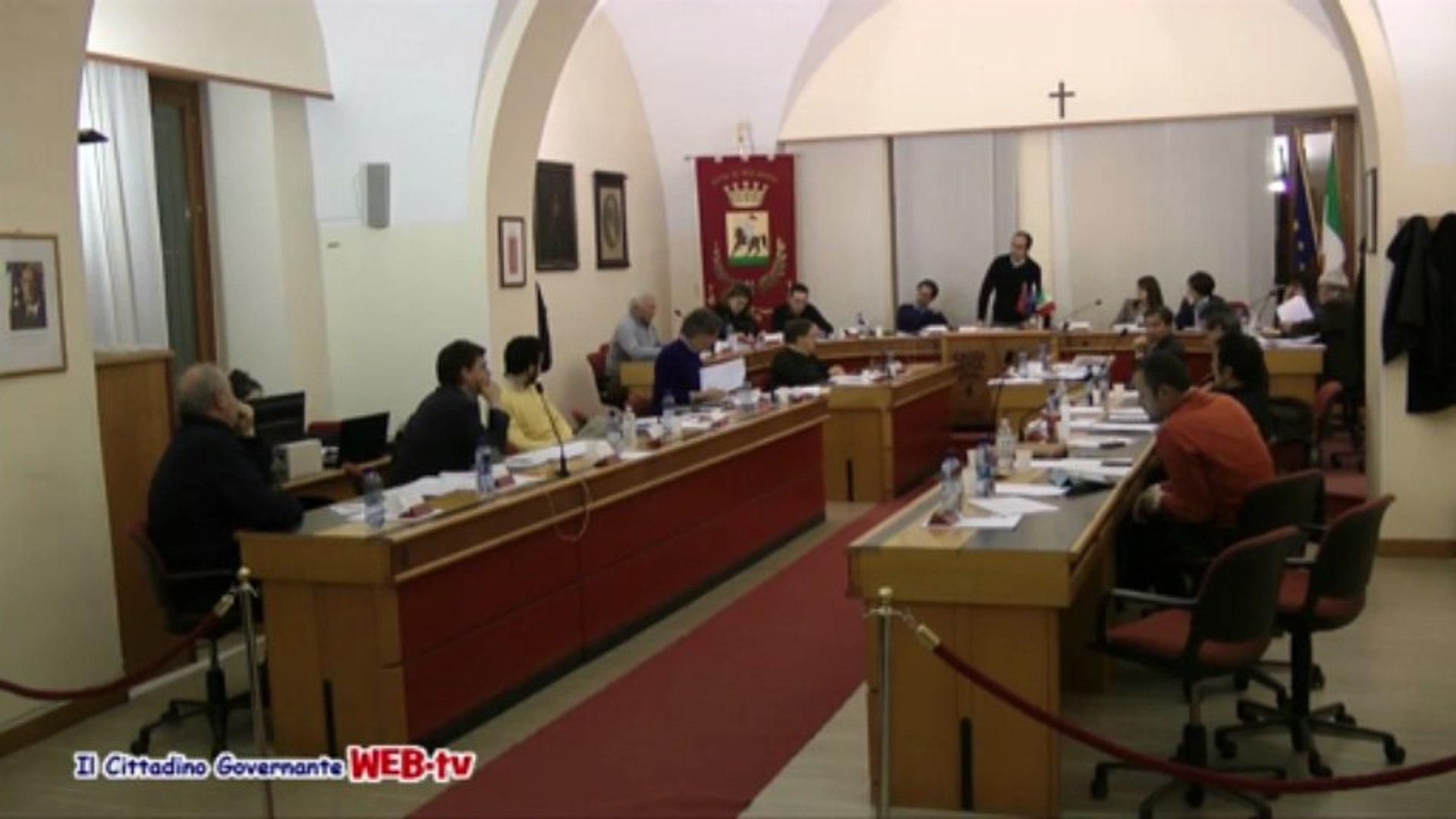Consiglio comunale 11 marzo 2013 Punto 3 piano di recupero Hotel Cristallo intervento Di Carlo