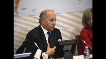 Audition de Laurent Fabius par la Commission des Affaires étrangères de l'Assemblée nationale