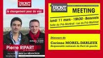 20130311-Discours de Corinne Morel-Darleux-Meeting de soutien au Front de gauche